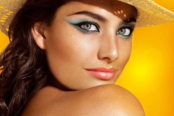 Como pintar ojos verdes