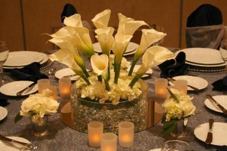 Imágenes de centros de mesa para boda