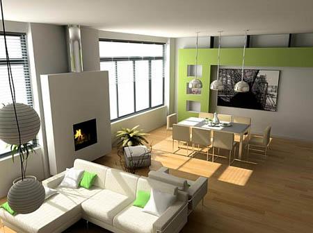Imágenes de decoración de interiores de casas