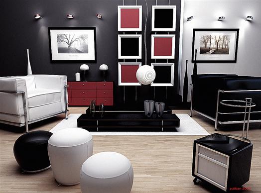 Imágenes de decoración de salas pequeñas2