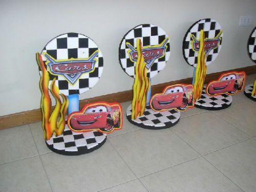 centros de mesa de cars