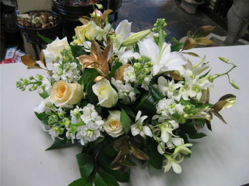 centros de mesa de flores para boda