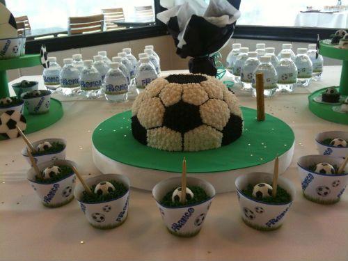 centros de mesa de futbol