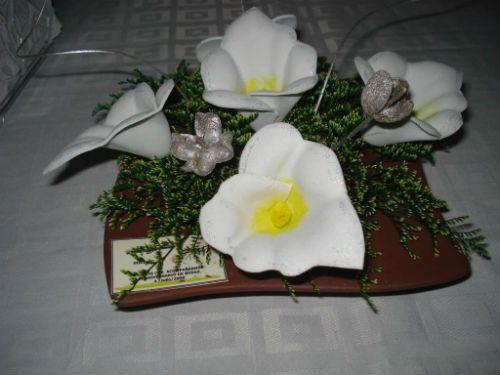 centros de mesa de madera para boda