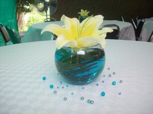 centros de mesa flor natural