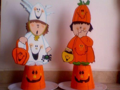 centros de mesa halloween