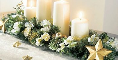 centros de mesa navideno