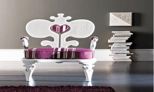 Color de muebles de sala