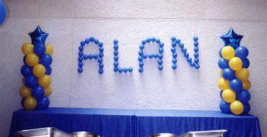 Como decorar con globos para 15 años