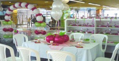 Como decorar con globos para cumpleaños