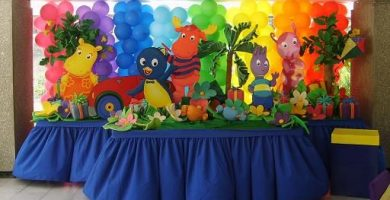 Como decorar con globos para fiestas infantiles