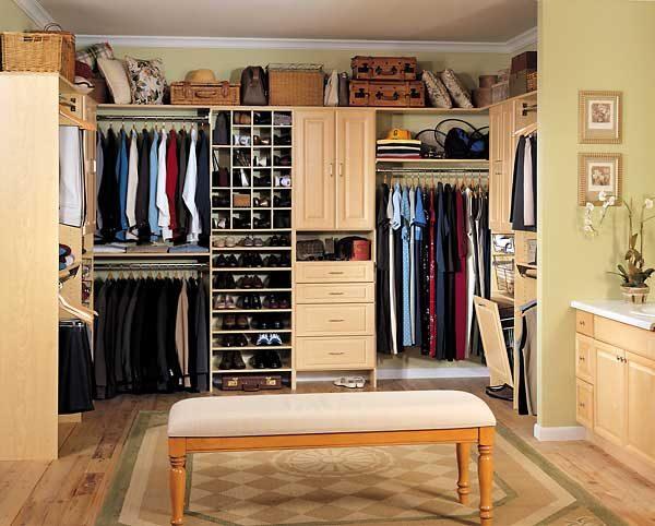 Diseños closets modernos