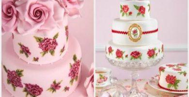 Fotos tortas de bodas