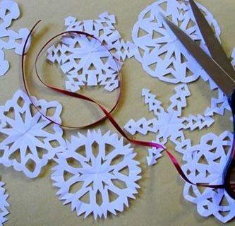 Manualidades para navidad con papel