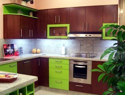 Modelos de muebles de cocina en madera