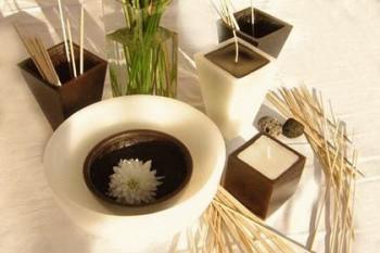Velas aromáticas artesanales