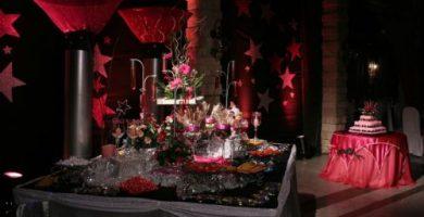 centros de mesa para 15 anos con estrellas