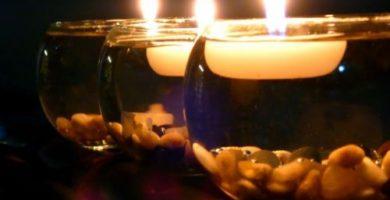 centros de mesa para 15 anos con velas