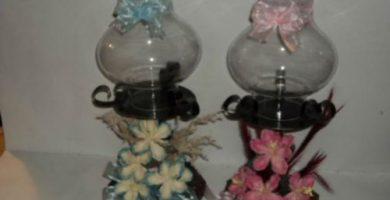 centros de mesa para bautizo con flores naturales