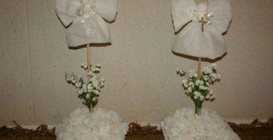 centros de mesa para bautizo originales