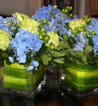 centros de mesa para boda en cristal