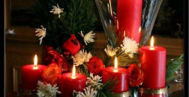 Centros de navidad manualidades