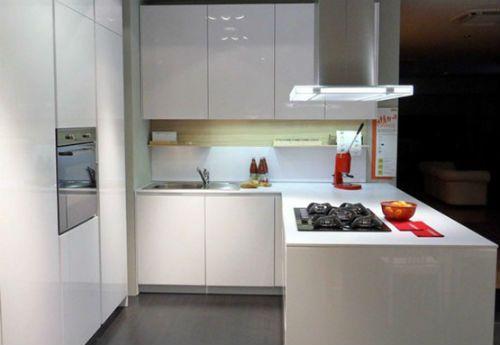Cocinas modernas para espacios peque os for Modelos de cocinas en espacios pequenos