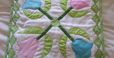 cojines en patchwork