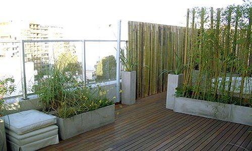 Como decorar la terraza for Macetas para exteriores decoracion