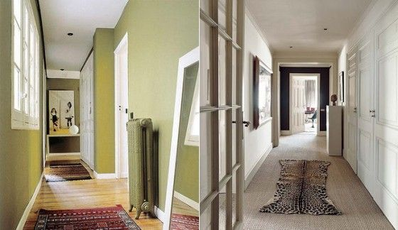 Como decorar un pasillo largo