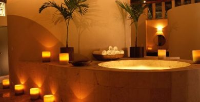 Como decorar un spa