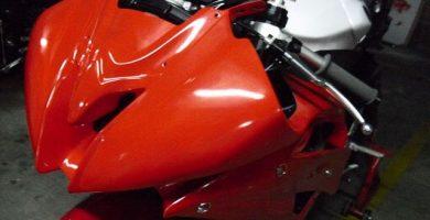 Como pintar una moto