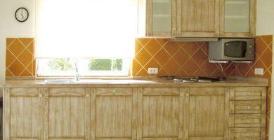 Cortinas para cocinas rusticas