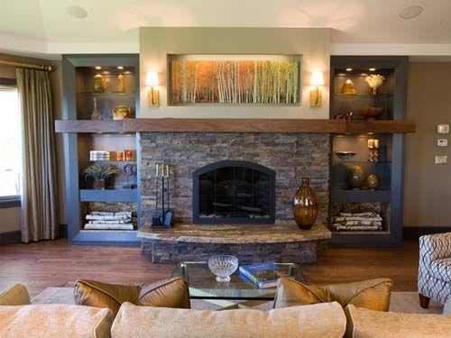Ideas para decorar chimeneas - Chimeneas para decorar ...