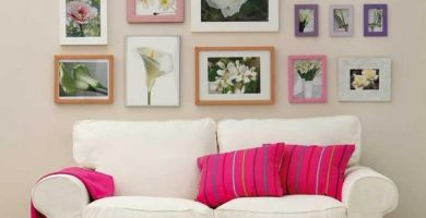 Ideas para decorar con cuadros
