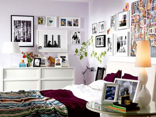 Ideas para decorar el dormitorio for Disenos para decorar paredes de dormitorios