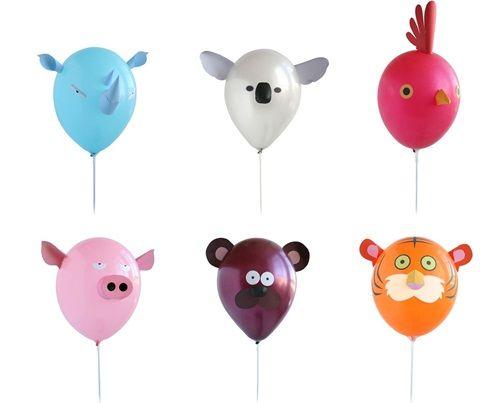 Ideas para decorar globos