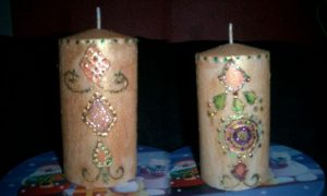 Ideas para decorar velas