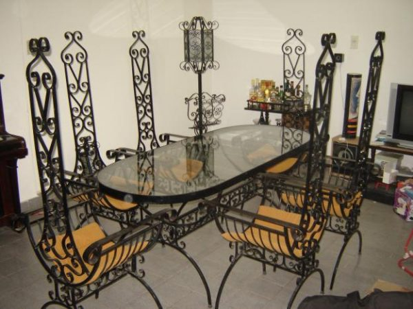 Muebles de herrería