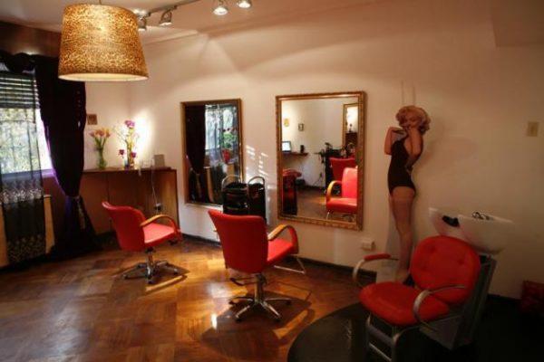 Muebles de peluquería usados