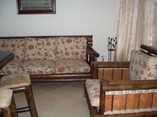 Muebles de salón rústicos