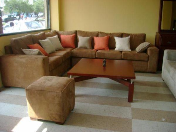 Muebles de sala en L
