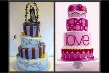 Torta de bodas fotos