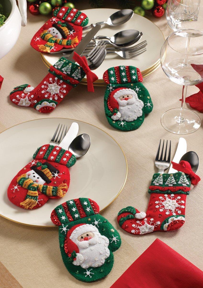 cubiertos-navideños