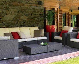 Muebles de terraza y jardín