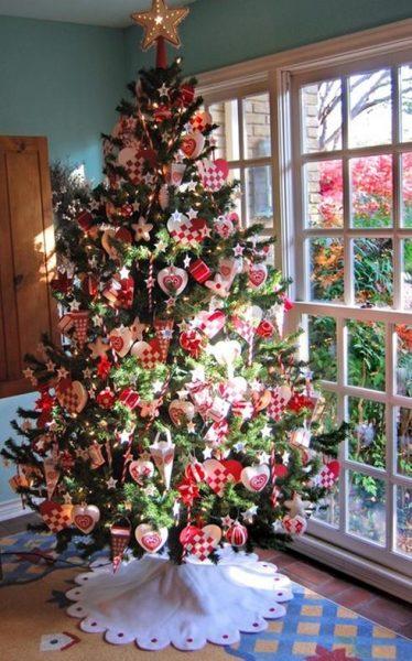 arbol-navidad-decoración-impactante