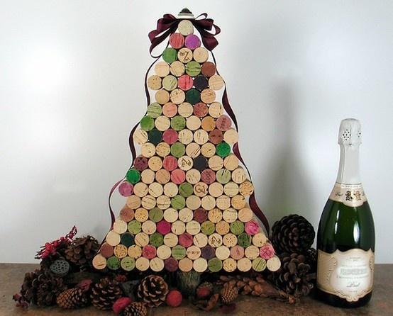 decoración-navidad-corchos