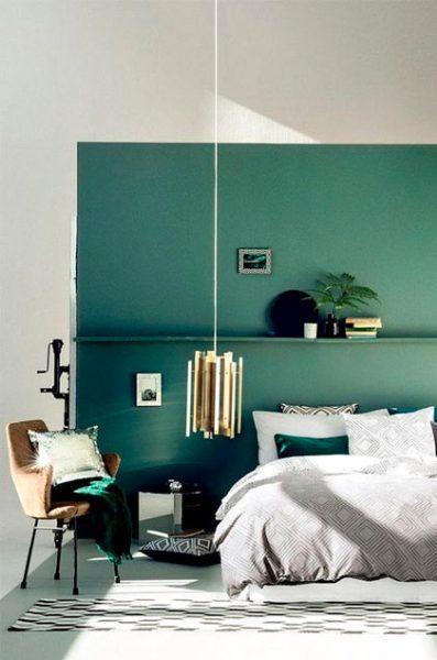 habitación-matrimonio-verde