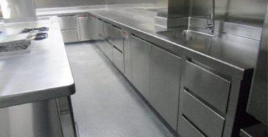 Cocinas usadas industriales