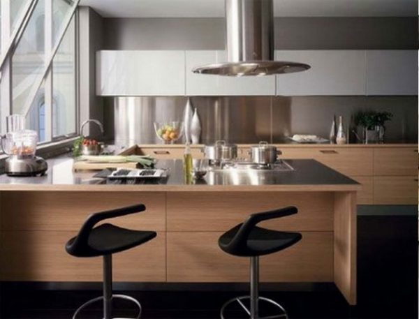 Cocina minimalista 2014